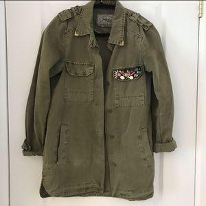 ZARA | Military Style Jacket